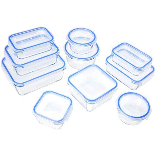 Amazon Basics - Recipientes de cristal...