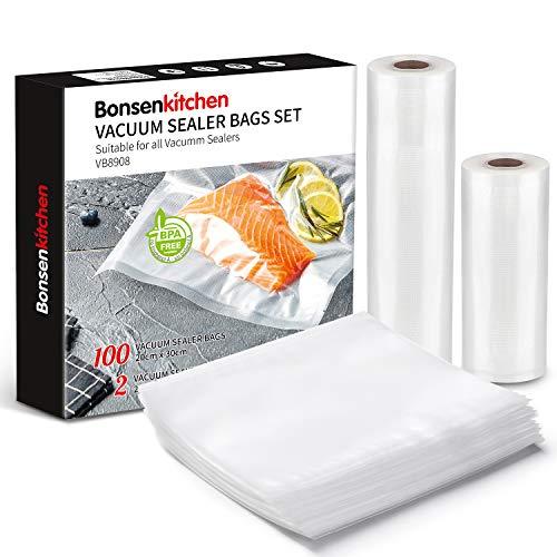 Bonsenkitchen Kit de Bolsas de Vacio...
